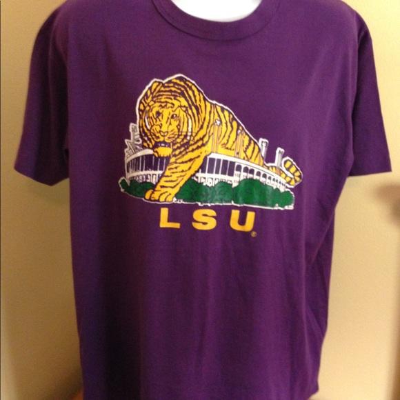 74f2a9ba7 Vintage Louisiana State University LSU Tshirt XL. M_5aa09cd29cc7ef8769e7fa4b